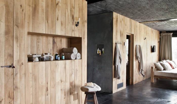 Look en bois pour la décoration intérieure